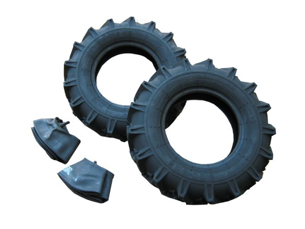 Fortschritt E390 / E931.50 Komplett-Reifen-Set inkl. Schläuche