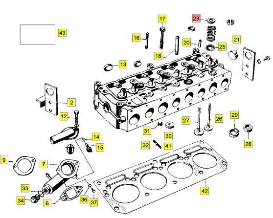 Multicar M25 Ventilsitzring Auslass