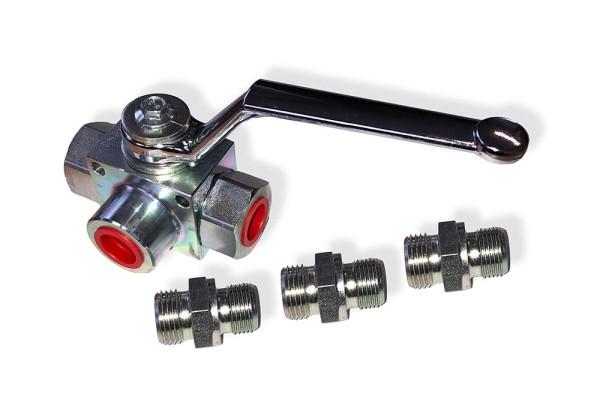 Multicar M25 Absperrventil Hydraulik (3 Abgänge)