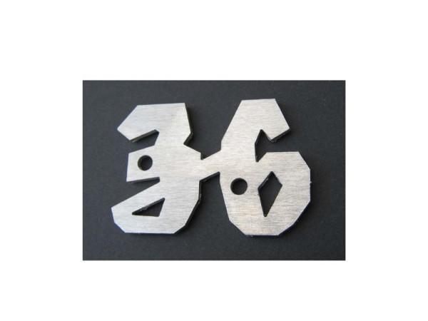 """Schriftzug - Emblem Famulus """"36"""""""