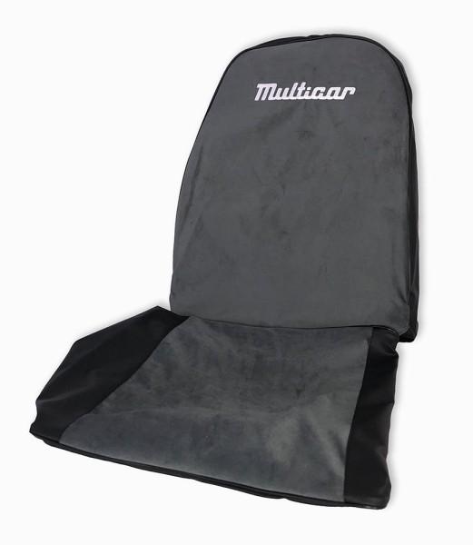 "Sitzbezug Schonbezug schwarz / grau ""Multicar"" für Multicar M25"