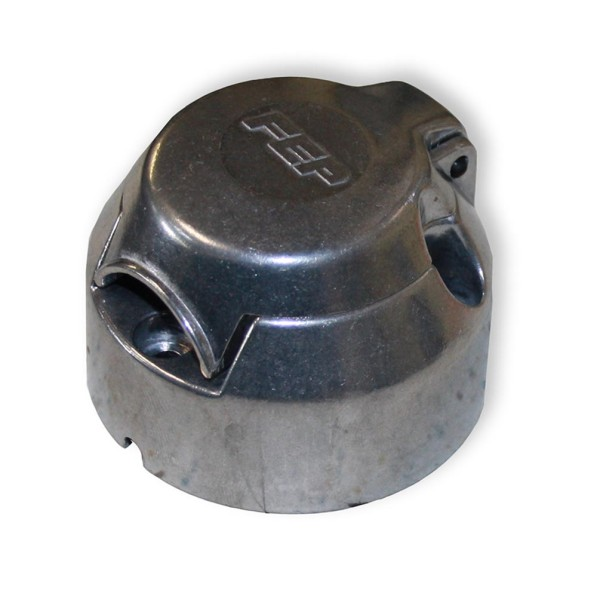 Steckdose, Anhängersteckdose aus Aluminium, 7-polig