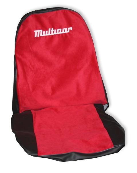 "Multicar M25 Sitzbezug / Schonbezug rot ""Multicar"""