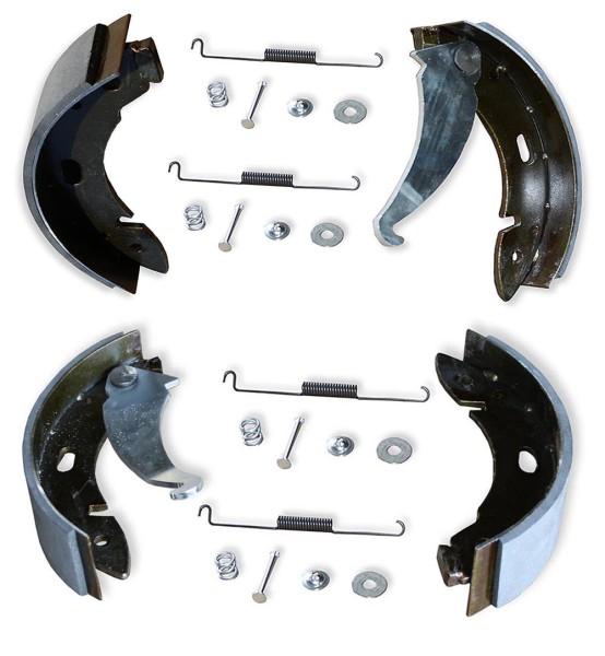Bremsbackensatz Hinterachse komplett mit Zubehör für Multicar M25
