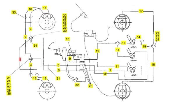 Bremsleitungen M26