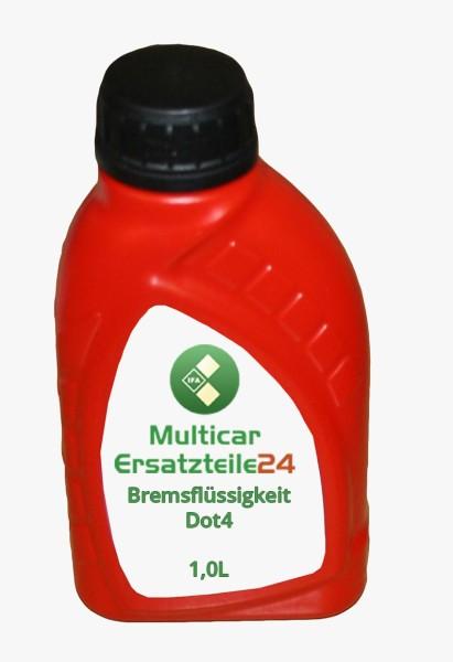 Multicar Bremsflüssigkeit Dot4 - 1,0L