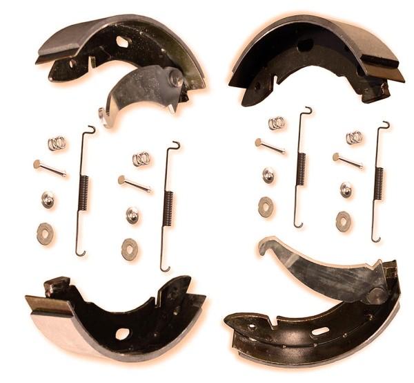 Multicar M24 Komplett Satz Bremsen Vorn und Hinten (Bremsbacken, - Zylinder, -Befestigungsmaterial)