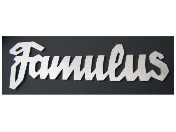 Schriftzug - Emblem Famulus