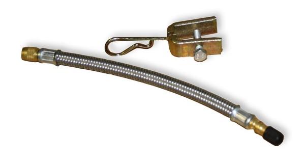 Multicar M25 Ventilverlängerung verstärkt mit Halter