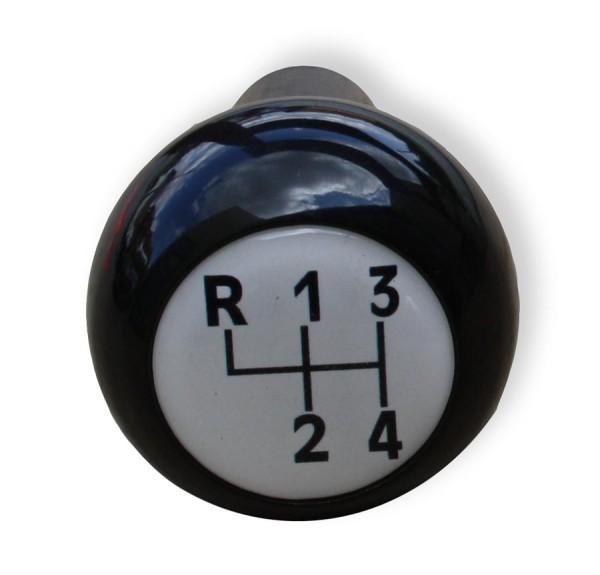 Schaltknauf schwarz Weiß für Multicar M24 und M25